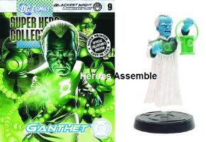 Eaglemoss DC Comics Super Hero Blackest Night Figurine Collection #9 Ganthet